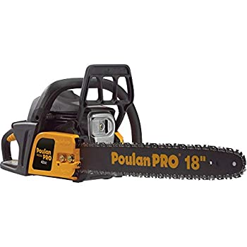 Poulan Pro 967185102 PP4218A 42cc Assembled Chainsaw with Case 18-Inch