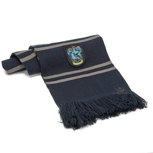 Cinereplicas - Harry Potter - Schal - Offiziel lizensiert - Ravenclaw - 190 cm - Blau und Grau