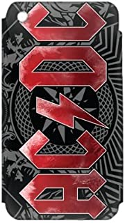 Zing Revolution MS-ACDC30001 AC/DC - Black Ice Cell Phone Cover Skin for iPhone 2G/3G/3GS