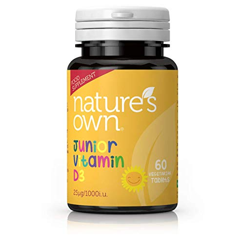 Nature's Own Junior D3 25ug - 60 Childrens Vegetarian Tablets