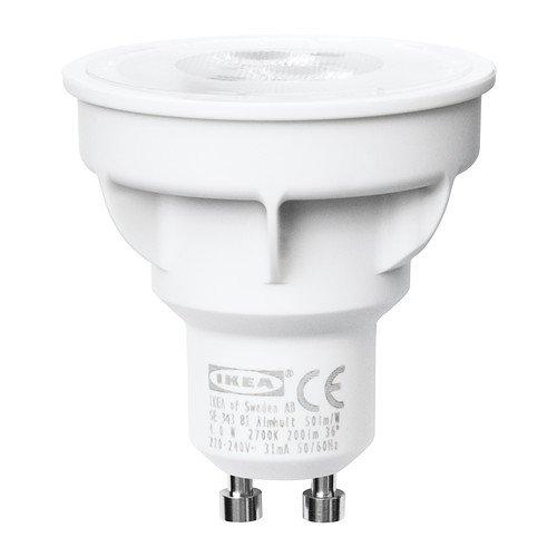 IKEA LEDARE -LED Leuchtmittel GU10-400 lm 6,3W 2700 Kelvin Warmweiß