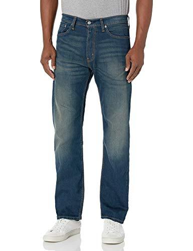 Levi's Men's 505 Regular Fit Jeans, Cash, 40W x 32L
