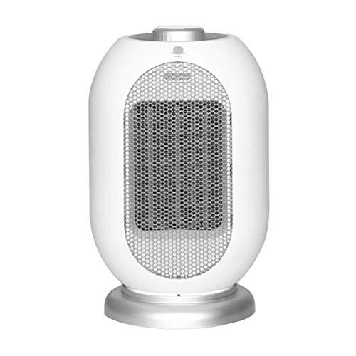 YLJYJ 1200W/700W Mini Calefactor Cerámico, PTC Calentador de Espacio Eléctrico Portátil Personal 2 Modos de contra Viento Protección de Seguridad,para Cuarto/Baño/Oficina
