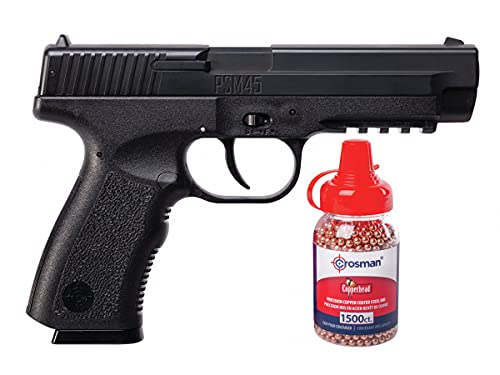 Crosman PSM45 Spring Powered Air Pistol w/ 1500 BB's air Pistol
