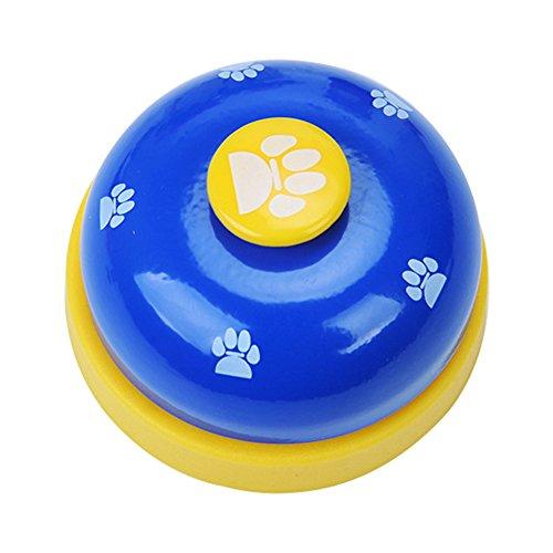 Sungpunet Haustier-Haustier-Trainingsglocke-Hundglocke für Zungentraining und als Kommunikationshundeglocke, zum zu Ostern nach 1 Stück Weiß zu gehen;