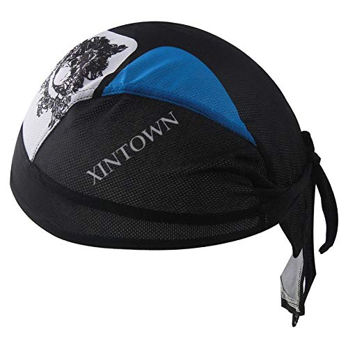 Gorro de Pescador Mountain Bike Pirate Hat Humedad Transpirable Riding Turbante Hat...