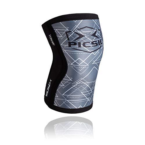 PICSIL Rodilleras (1 PAR) - 5&7mm Knee Sleeves - Rodilleras para Halte