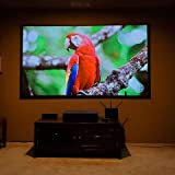 100inch 4k Ultra Short Throw PET Crystal ust CLR Screen 16:9 Ceiling Light Rejecting Projection Screen for Ultra Short Throw Projector Fixed Frame Screen for Home Theater, Boardroom -  Fina
