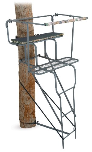 Ameristep 15-Feet Two Man Ladder Stand (Camo)