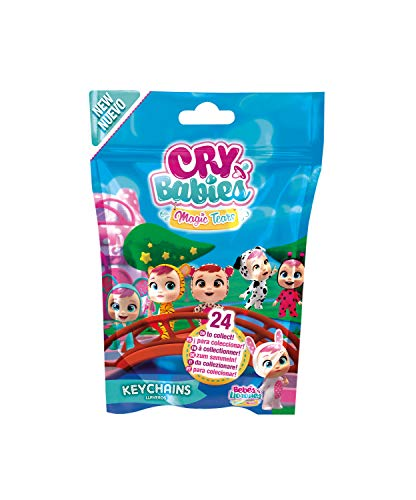 Bebés Llorones Lágrimas Mágicas- Llaveros W2 (IMC Toys