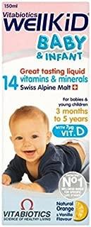 Vitabiotics Wellkid Baby Syrup 150Ml (2 Pack)