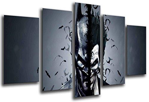 Cuadro Fotográfico Superheroes, Batman, Joker Tamaño total: 165 x 62 cm XXL