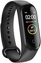 Youlaify Smart Bracelet Waterproof Smart Fitness Band Step Counter Heart Rate Monitor with Sleep Monitor Step Counter