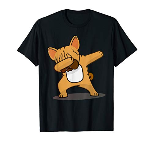 Cute Dabbing Frenchie - French Bulldog Owners / Lovers gift T-Shirt