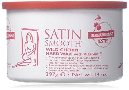 SATIN SMOOTH Wild Cherry Hard Wax