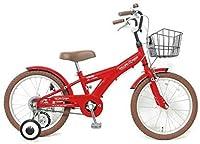 【片足スタンドセット】子供用自転車 16インチ ROLLING RINGS BMXタイプ 子ども用自転車 キッズ 幼児車 ローリ 男の子 女の子 (レッド)