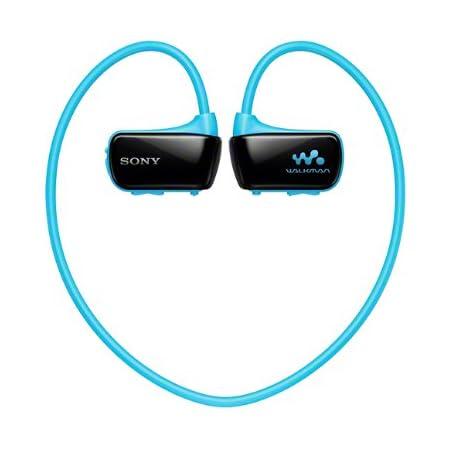 SONY ウォークマン Wシリーズ 8GB ヘッドホン一体型 防水タイプ ブルー NW-W274S/L