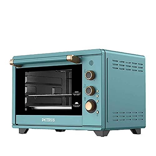 Horno eléctrico, horno multifunción, horno automático de gran capacidad de 38 litros, horno eléctrico de fermentación de baja temperatura, adecuado para el hogar, la panadería, la cocina