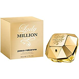 Paco Rabanne Lady Million Eau de Parfum Spray for Women, 80 ml:Hotviral