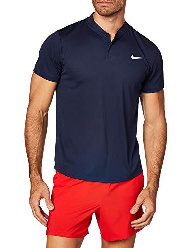 Nike Herren Dri-Fit Polo, Obsidian/White, M