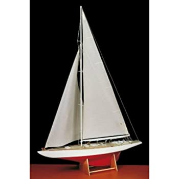 Amati Bluenose Wooden Fishing Yacht Ship Model Kit AM1447