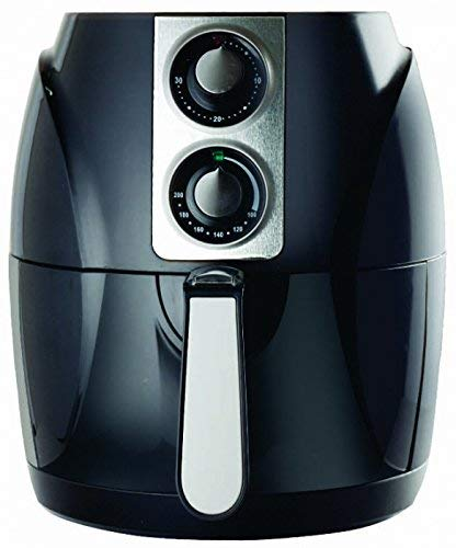 BALTRA Passion 2.5-Litre 1400W Crispy Air Fryer with Smart Rapid Air Technology,Timer Function & Fully Adjustable Temperature Control(Black)