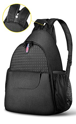 DSLR Camera Bag Waterproof Camera Sling Backpack with Rain Cover Outdoor Travel Backpack Camera Bag Case for Laptop Canon Nikon Sony Pentax DSLR Cameras (Double Shoulder Strap)