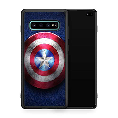 Inspired by Captain America Avengers Samsung Galaxy S8 S9 Plus S10 S10e S10 Plus Case Superhero Shield M191