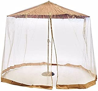 Southern Casual Living Canopy Patio Umbrella Mosquito/Insect Screen & Netting Enclosure with Carrying Bag