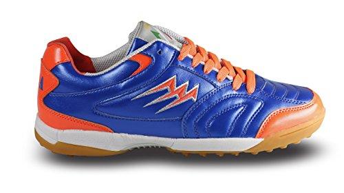Agla F/40 Scarpe Da Futsal Outdoor, Blu/Arancione, 27.5 cm/43