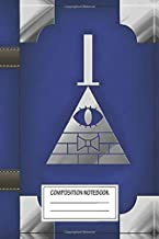 Notebook: Blue Gravity Falls Inspired Book Of Cipher , Journal for Writing, Size 6