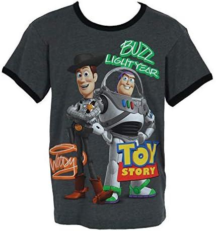 Toy Story - Camiseta para niño, diseño de Woody Buzz, para niños de 4 a 14 años