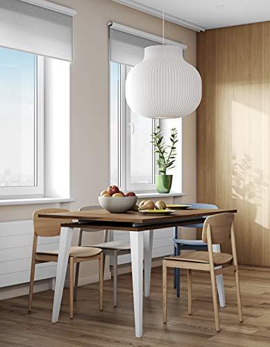 Table Panneaux De Particules Mélamines Noyer 134 x 89,5 x 77 cm, 2290A0800X00 PRISM