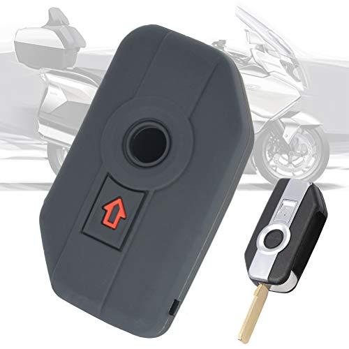 XUKEY Silicone Full Protect 2 pulsanti Telecomando Chiave Shell Custodia Fob Cover Custodia per moto F750GS F850GS K1600 K1600GTL R1200GS R1200GS LC ADV R1250GS