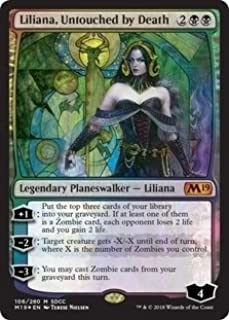 Magic: The Gathering - Liliana, Untouched by Death - Foil - SDCC 2018 Exclusive