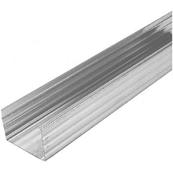 8 Stab je 4m UW Wandprofil 75mm Trockenbauprofil St/änderwerk Trennwand U Profil