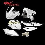 Sportbikefairings Unpainted Complete Fiberglass Racing Fairing Kit For Yamaha R3 R25 2019 2020 r25 r3 19 20 Sportbike Bodywork Naked