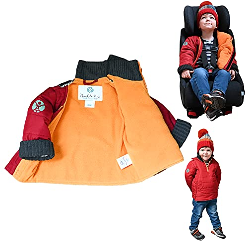 Toddler Puffy Winter Coat | Buckle Me Baby Patented Water...