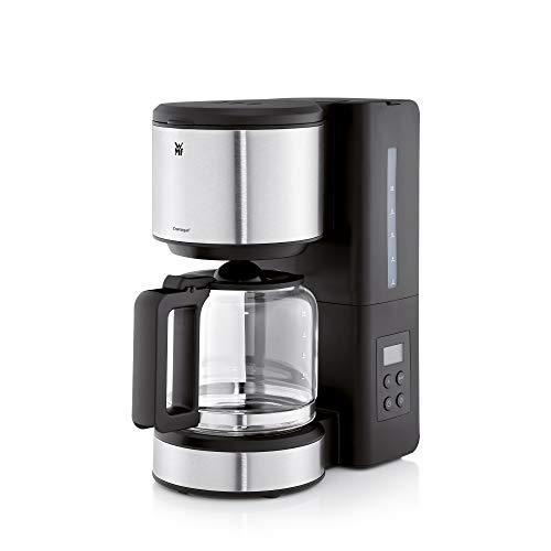 WMF Stelio Aroma Filterkaffeemaschine mit Glaskanne, 10 Tassen, Kaffeemaschine mit Warmhalteplatte, Timer, abnehmbarem Wassertank, Abschaltautomatik