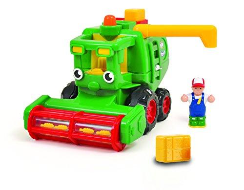 Jumbo Wow Toys - Harvey Harvester, Coche de Juguete (10120)
