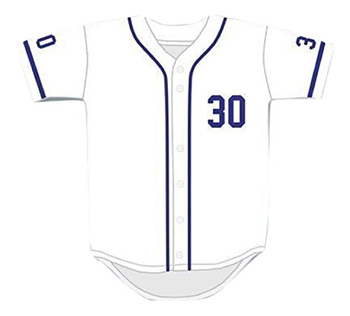 Mike Vitar Benny 'The Jet' Rodriguez 30 White Baseball Jersey The Sandlot (38)