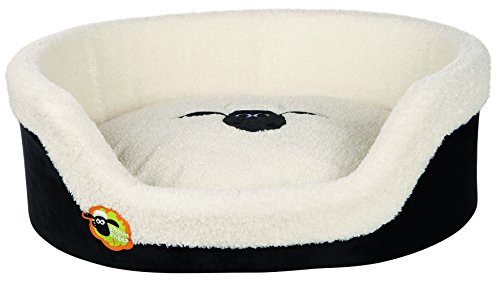Trixie 36882 Shaun das Schaf Bett, 85 x 65 cm