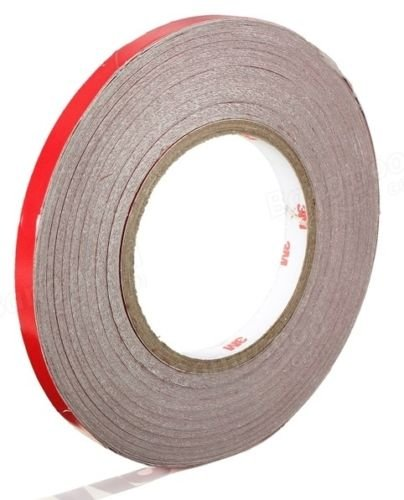 3M 150FT Reflective Body Stripe Tape DIY Sticker Decal Self Adhesive (Red)