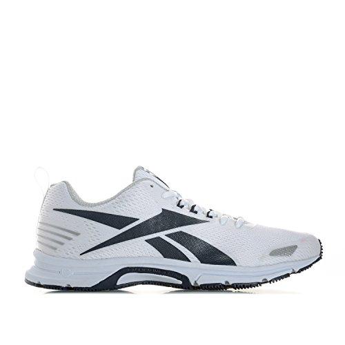 Reebok Triplehall 6.0, Scarpe Da Trail Running Uomo, Bianco (Bianco (White/Collegiate Navy/Skull Grey), 46 EU