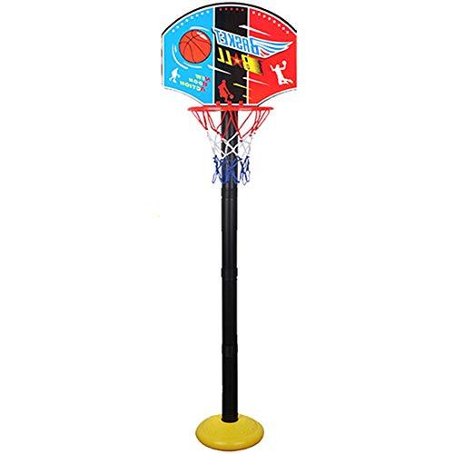 Lanceasy Juego de mini baloncesto para niños, para entrenamiento en interiores y exteriores