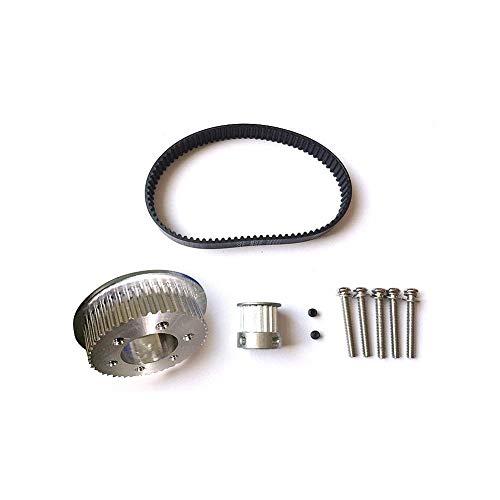 ATpart Elektrisch skateboard versnelling beweging aluminiumlegering set tand 16:48 kit Een