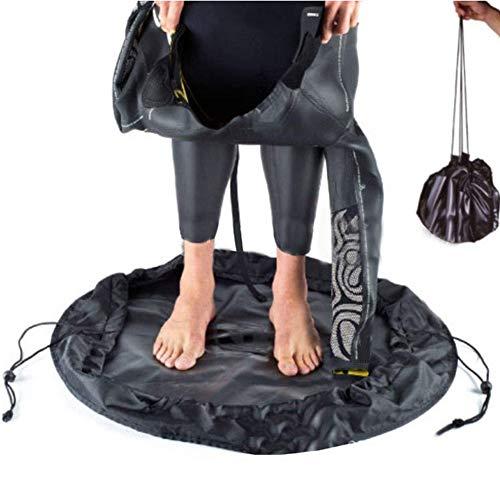 Tongdejing Cambiador de traje de neopreno, impermeable, bolsa húmeda, bolsa seca para surf, kayakers, rafters, navegadores, peso ligero y plegable