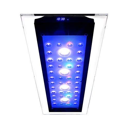 eSmart Germany Sweet Nemo Glass 3-220 Watt Aquariumbeleuchtung für Süßwasser | Programmierbar | inkl. Kühlung | Aquarium Beleuchtung Aquarium Leuchte Aquarium Lampe