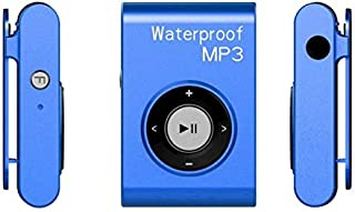 WZY IPX8 Waterproof Swimming Diving Sports MP3 Music Player with Clip & Earphone, Support FM, Memory:8GB(White) (Color : B...
