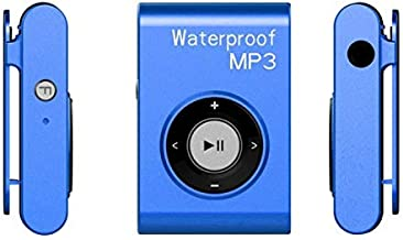 $81 » Nobrand YiShi-US Raincoat Fluid Diving Sports MP3 Music Player with Clip & Earphone, Support FM, Memory:8GB(White) (Color : Blue)